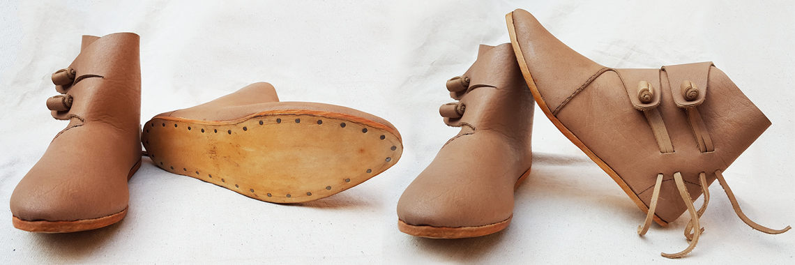 Jorvik Style Viking Boot