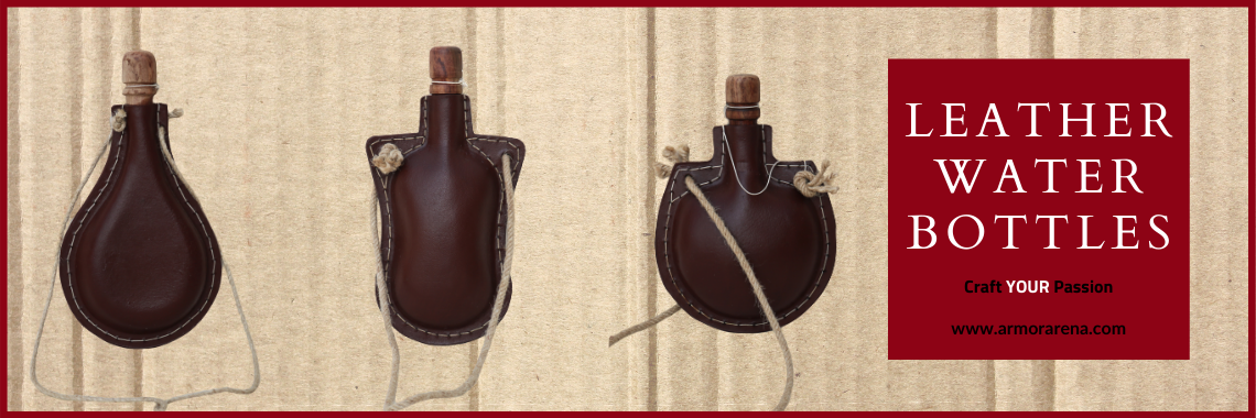 Leather Water Bottles