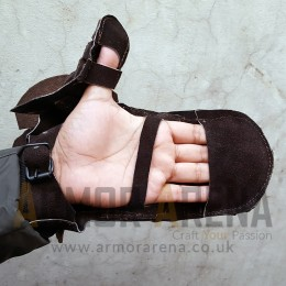 Leather Fighting Gauntlet