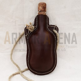 Leather Water Bottle - III