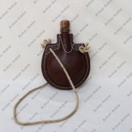 Leather Water Bottle - 1