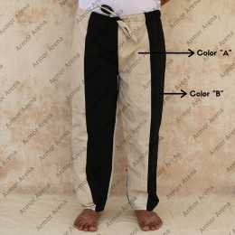 Canvas Trouser Bicolor
