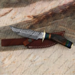 Knife with Ram's Horn Handle
