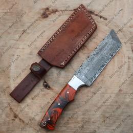 Fixed Blade Damascus Knife