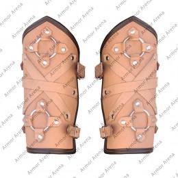 Berserker Leather Bracers