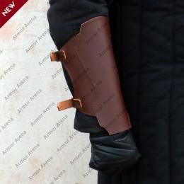 Medieval Leather Bracers