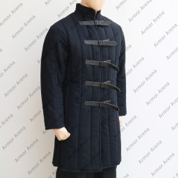 Long Sleeves Gambeson with Straight Bottom
