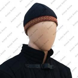 Birka Style Padded Wool Cap