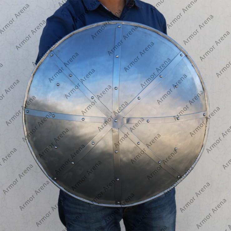 Reinforced Round Shield