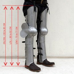 Leg Armor with Backplate