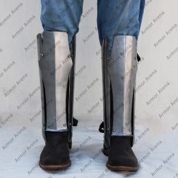 Segmented Leg Greaves