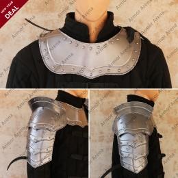 Combat Shoulders & Gorget