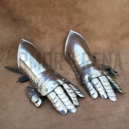 Gauntlets of Duke Friedrich Ulrich Armor or Southern German Fingered Gauntlets 1550-1650