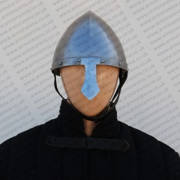 Conical Norman Helmet with Riveted Band
