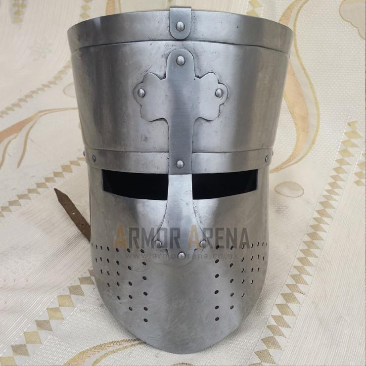 Medieval Knight Templar Helmet